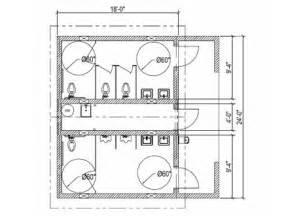 Commercial Bathroom Dimensions » Home Design 2017