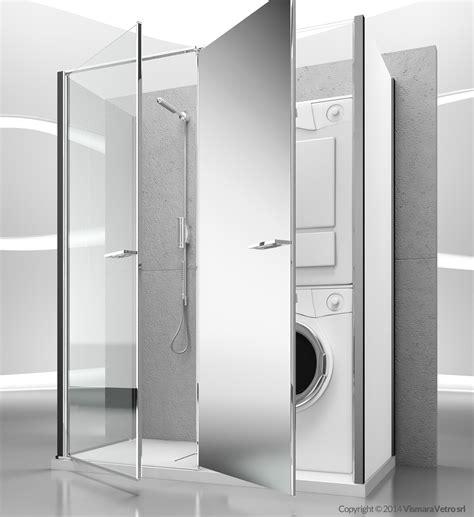 box doccia a parete box doccia a parete con vano contenitore t13 by