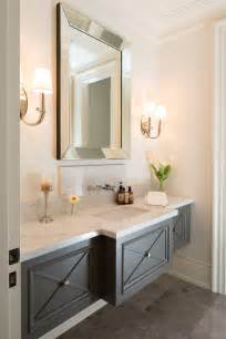 Small Powder Room Vanity Small Baths With Big Impact Tidbits Amp Twine