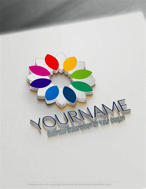 create own logo for create flower logos with our free logo maker