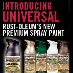 introducing rust oleum 174 universal the next generation of spray paint
