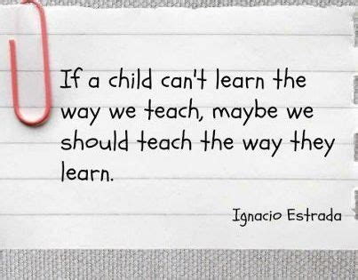 why can t we learn the way we learn to drive a car infographic visualistan if a child can t learn the way we teach maybe we should teach the way they learn ignacio