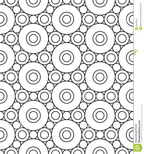 geometric background circles seamless pattern vector stock vector modern seamless geometry pattern circles black and