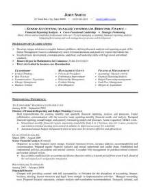top accounting resume templates sles