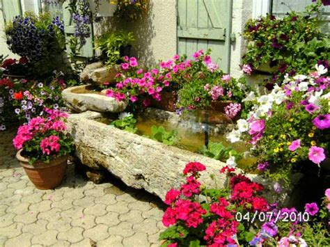 Table De Nuit En Anglais #10: Au jardin fleuri a glay 4935