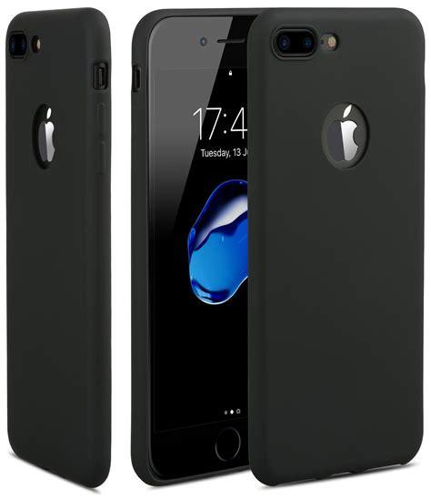 egotude iphone 7 plus soft silicone slim back cover for apple iphone 7 plus black