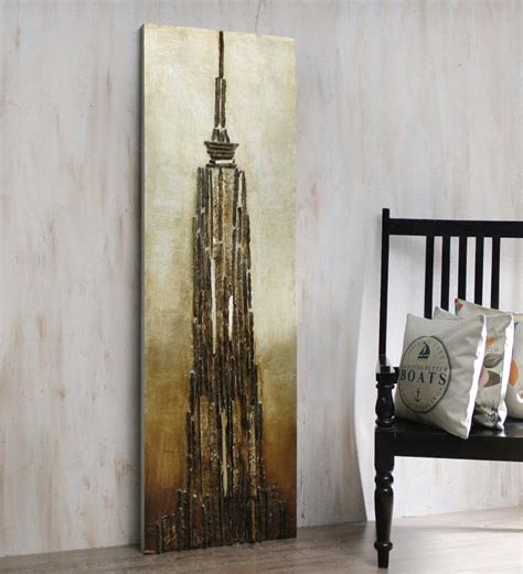 foyer wall decor foyer empire state building wooden wall art by foyer
