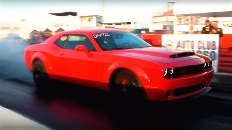 Dodge 1 4 Mile by Dodge Brakes The 9 Seconds 1 4 Mile Time
