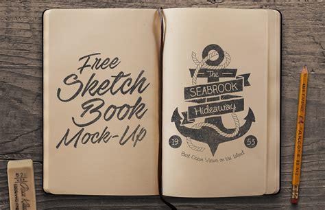 sketchbook mockup psd free sketchbook mockup psd medialoot