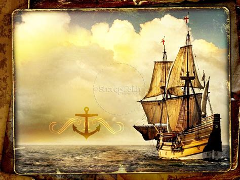 powerpoint themes ships ship powerpoint template fall thanksgiving powerpoints