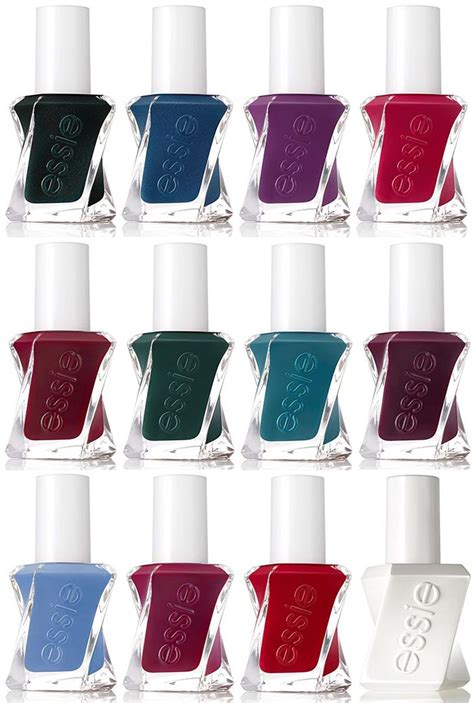 essie gel colors essie gel couture nail polishes summer 2016 see all the