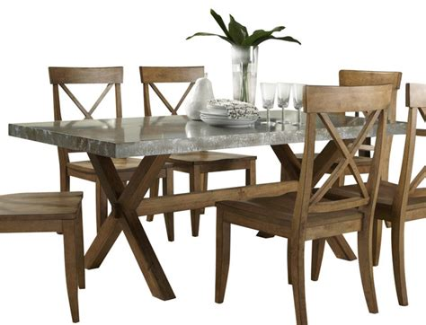 liberty furniture keaton 76x38 rectangular trestle dining
