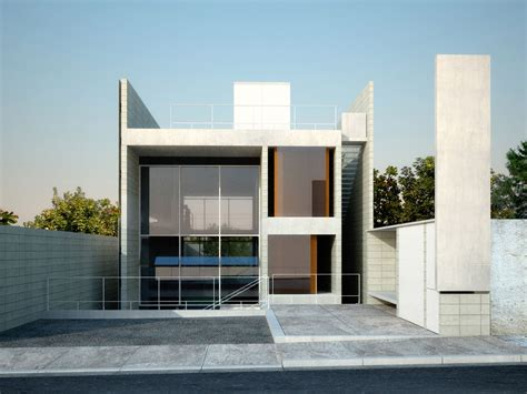 style modern concrete house plans modern house design