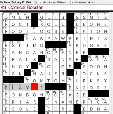 repeated theme crossword clue rex parker does the nyt crossword puzzle wednesday aug