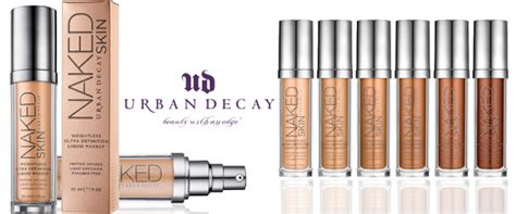 Foundation Naked7 review decay skin foundation illusion
