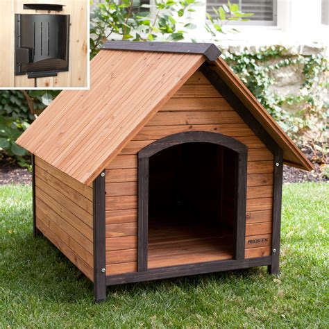 precision outback dog house precision outback country lodge dog house with heater
