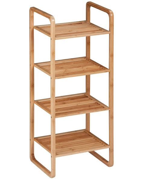 Bamboo Bathroom Shelving Bathroom Shelves Bamboo In Bathroom Shelves