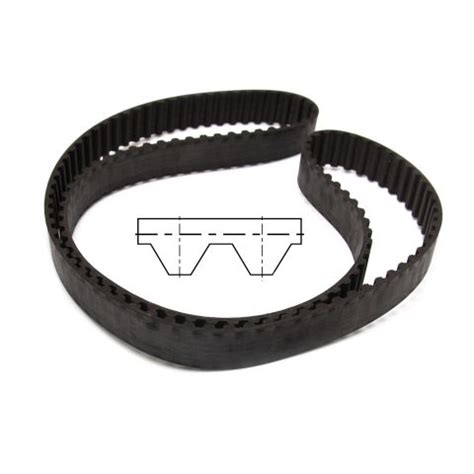 Belt Teneth 270h150 timing belt 1 2 quot 12 7mm pitch 1 1 2 quot 38mm wide 54 teeth wychbearings co uk