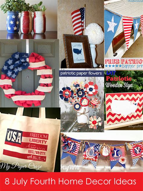 4th of july home decor 4th of july home decor ideas at the project stash