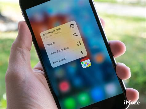 iphone 3d touch fantastical for iphone gets 3d touch support app adds new multitasking features imore