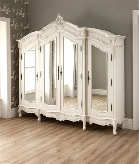 antique french style wardrobe armoire stylish bedroom