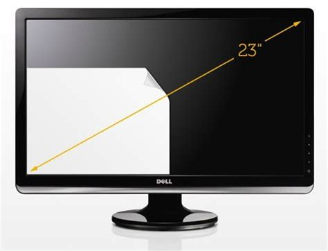 dell st2321l 23 inch screen led monitor computers accessories