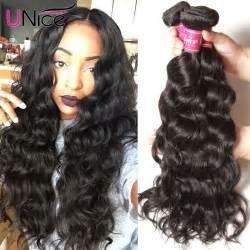 ali express hair weave aliexpress com buy unice brazilian natural wave virgin