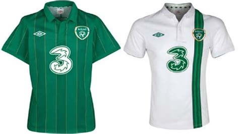 Irlandia Republik Away 2016 seragam atau jersey home away 16 tim cup 2012 arfo