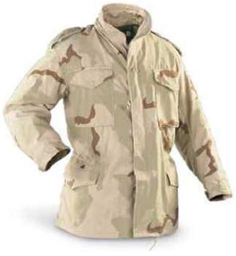 Parka Cw Anti Air m65 field jacket dcu tri color desert camouflage