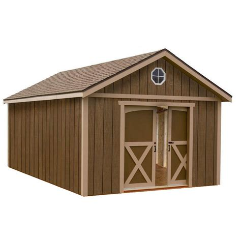 15 X 12 Shed by Shop Best Barns Dakota Without Floor Gable Engineered Wood Storage Shed Common 12 Ft X