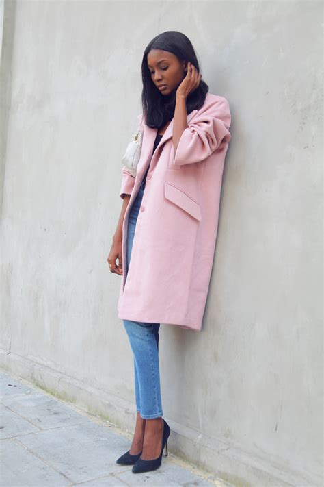 light pink cocoon coat oversized outerwear fashion trend autumn winter 2014