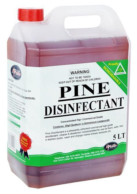 Pine Disinfectant   A Plus   Chemicals Western Australia