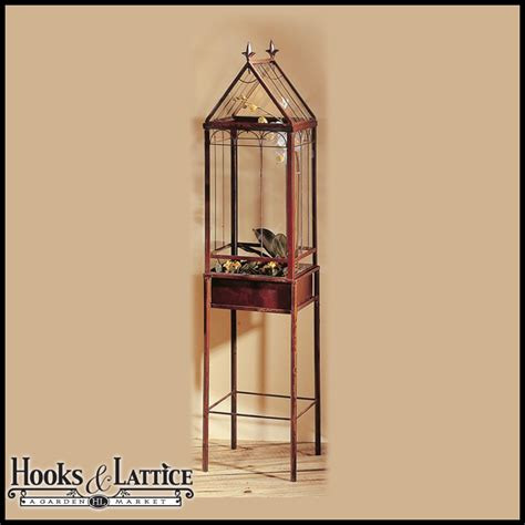 free standing terrariums tall display cases standing