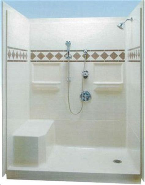 Water Dam For Shower Stalls by 25 Best Ideas About Fiberglass Shower Enclosures On