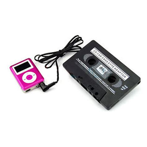 adattatore cassetta mp3 adattatore cassette per ipod dvd player pda mp3 he ebay