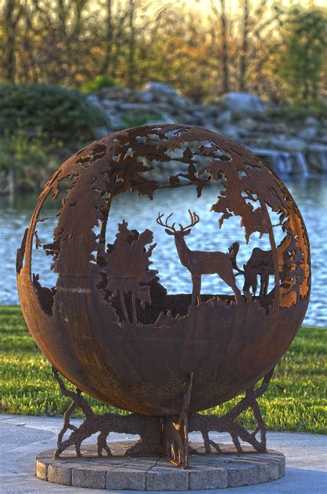 up north fire pit sphere the fire pit gallery the fire
