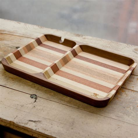 beautifully crafted hardwood valet trays direkt concept