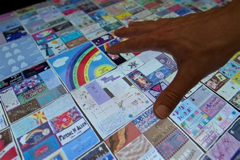 The Names Project Aids Memorial Quilt by Microsoft Creates Version Of The Aids