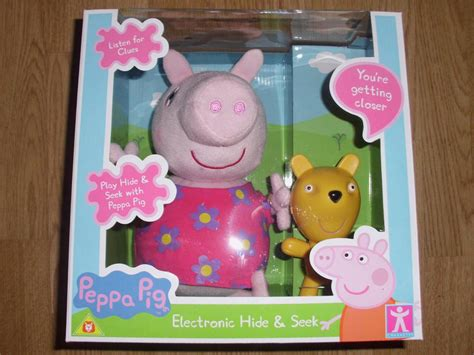 peppa pig hide and peppa pig electronic hide and seek brand new boxed