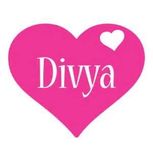 divya logo name logo generator i love love heart