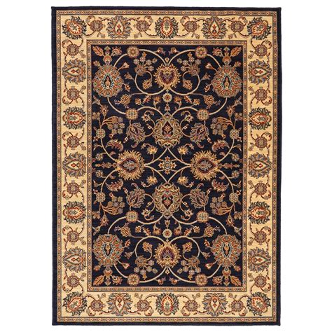 Oxford Rugs by Manor 9 2x13 Oxford Navy Rug Rotmans Rug