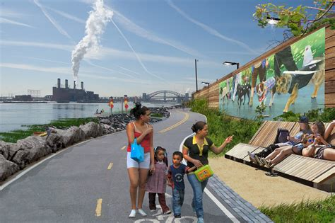 See the South Bronx Waterfront's Green, Park Filled Future