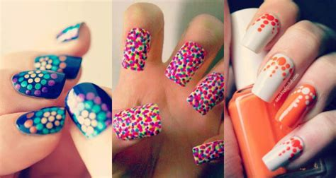 Cool Home Decorations by 50 Different Polka Dots Nail Art Ideas That Anyone Can Diy
