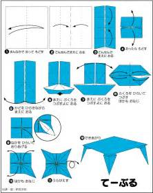 Origami How To Make A - extremegami how to make a origami table