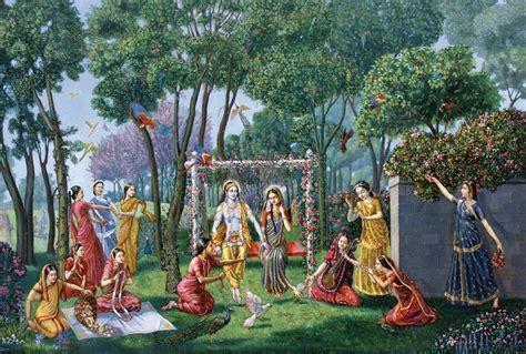 swing festival the swing festival spiritual art vedic art oil painting