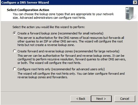 Lookup Zone Resolves Installing And Configuring A Dns Server In Windows Server 2008 Interserver Tips