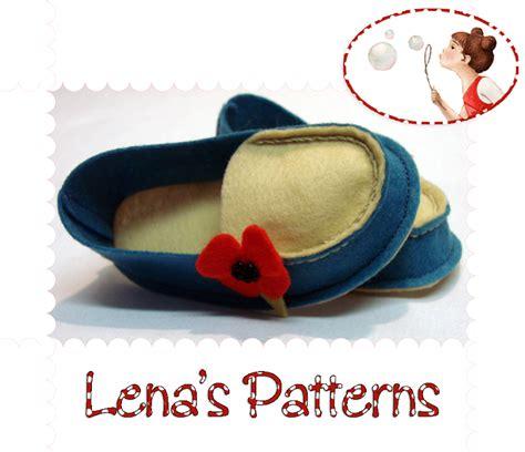 pattern wool felt baby wool felt mocs sewing pattern on luulla