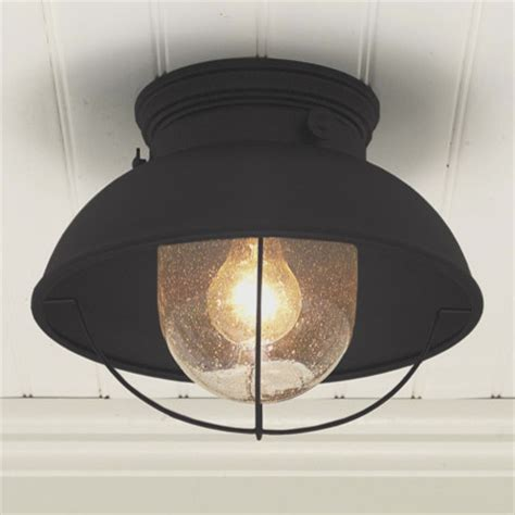 Outside Ceiling Light Nantucket Ceiling Light Modern Outdoor Flush Mount Ceiling Lighting By Shades Of Light