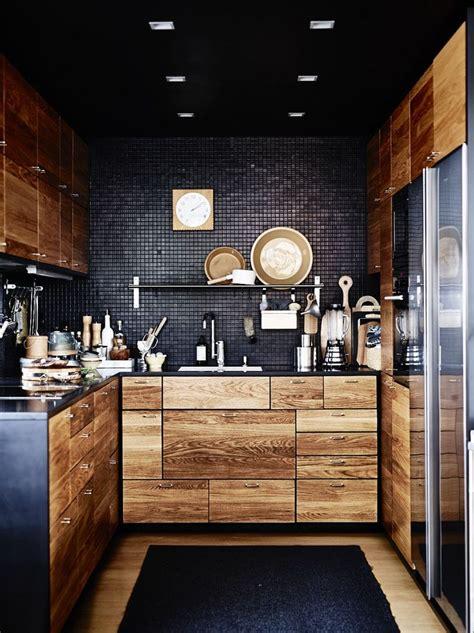 playful dark kitchen designs ideas pictures