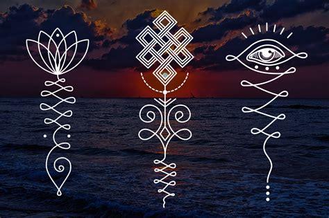 11 unalome amp lotus sacred symbols by al design bundles